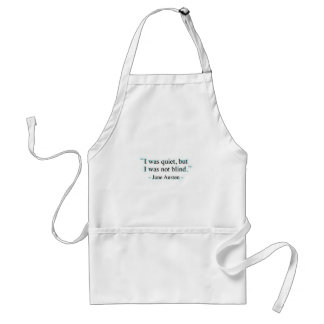 Jane Austen quote Standard Apron