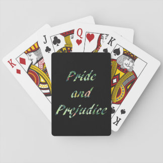 Jane Austen's Pride and Prejudice Poker Deck