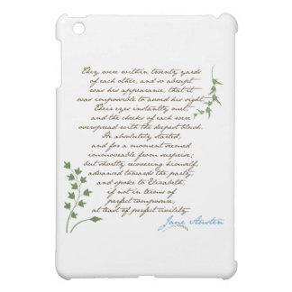 Jane Austen s Pride Prejudice Quote 1 iPad Mini Cover