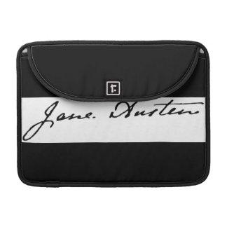 Jane Austen Signature MacBook Pro Sleeves