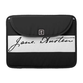 Jane Austen Signature Sleeve For MacBooks