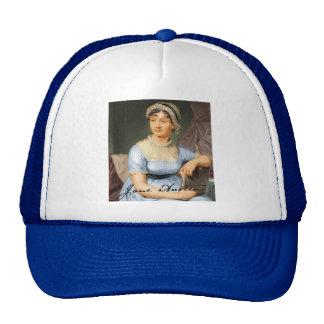 Jane Austen Signed Portrait Hats