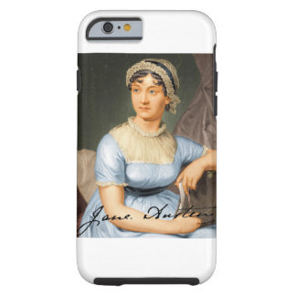 Jane Austen Signed Portrait Tough iPhone 6 Case