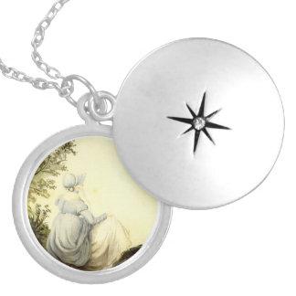 Jane Austen Silver Plated Locket