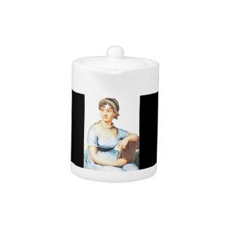 Jane Austen Theme Teapot
