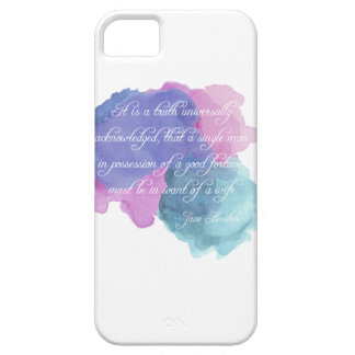 Jane Austen- Truth Universally Acknowledged iPhone 5 Cases