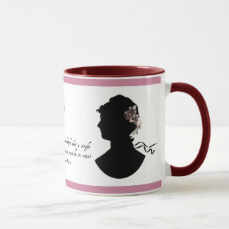 "Jane Austen ""Truth Universally Acknowledged"" Mug"
