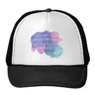 Jane Austen- Truth Universally Acknowledged Trucker Hat