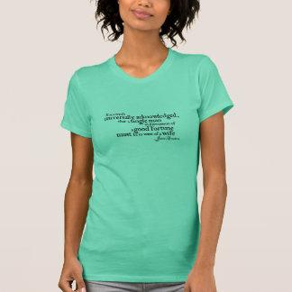Jane Austen Universally Quote Women's T-Shirts