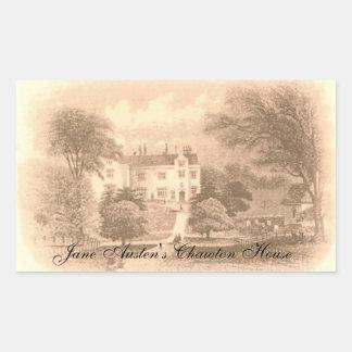Jane Austen's Chawton House Sticker