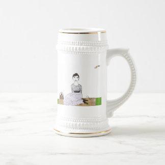 Jane Austen's Picnic 18 Oz Beer Stein