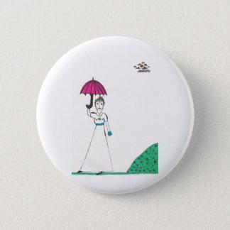Jane austen's world 2 inch round button