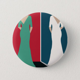 Jane Eyre Design 2 Inch Round Button