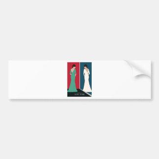 Jane Eyre Design Bumper Sticker
