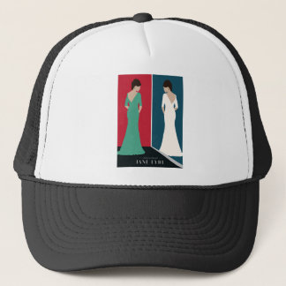 Jane Eyre Design Trucker Hat