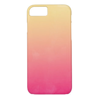 Jane Ombre Watercolor iPhone Case