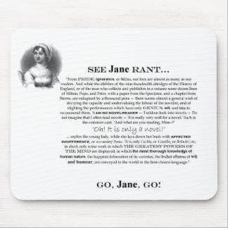 Jane Rant Mousepad
