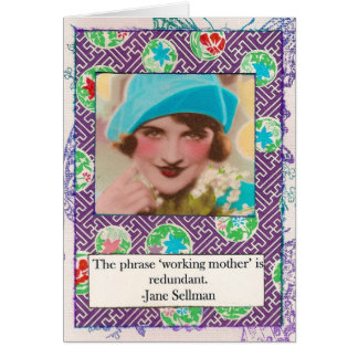 Jane Sellman Motherhood Quote Card