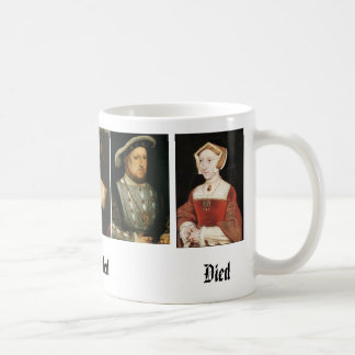 Jane Seymour, Catherine of Aragon, Anne Boleyn,... Coffee Mug