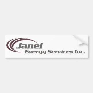 Janel Energy Bumper Sticker