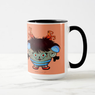 JANET ALIEN MONSTER 15oz Classic Ringer Mug