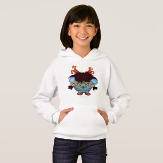 JANET ALIEN MONSTER CARTOON Hoodie Girl WHITE