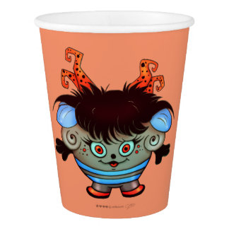 JANET MONSTER PAPER CUP
