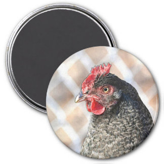 Janet The Hen Magnet
