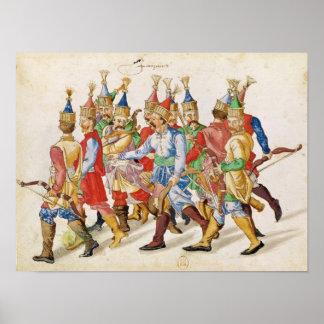 Janissaries, 1583 poster