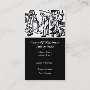 Janitorial Services Business Card