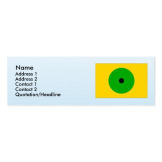 Janov RA, Czech Business Card Template