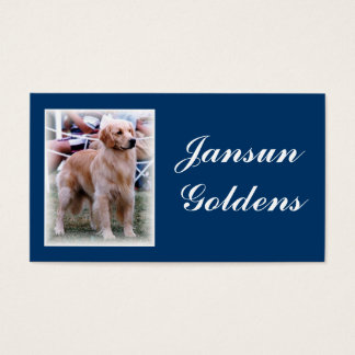 Jansun Goldens Business Card