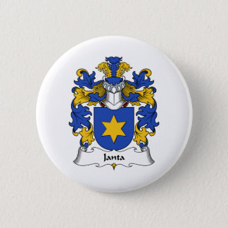 Janta Family Crest 2 Inch Round Button