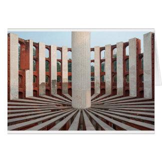 Jantar Mantar, Delhi, India Card