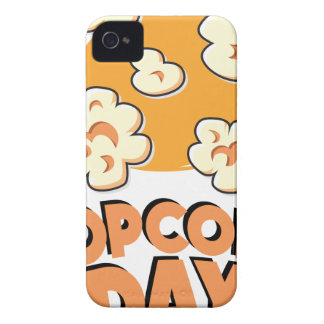 January 19th - Popcorn Day - Appreciation Day iPhone 4 Case-Mate Cases