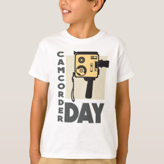 January 20th - Camcorder Day - Appreciation Day T-Shirt