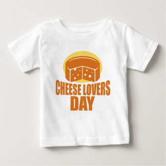 January 20th - Cheese Lovers Day Baby T-Shirt