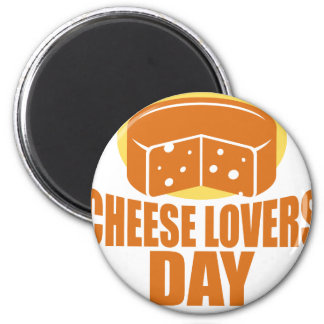 January 20th - Cheese Lovers Day Magnet