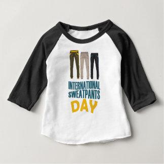 January 21st  - International Sweatpants Day Baby T-Shirt