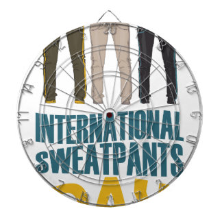 January 21st  - International Sweatpants Day Dartboard