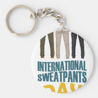 January 21st  - International Sweatpants Day Keychain