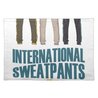 January 21st  - International Sweatpants Day Placemat