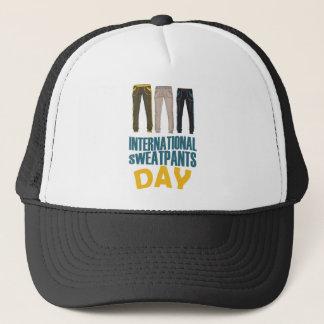 January 21st  - International Sweatpants Day Trucker Hat