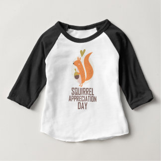 January 21st - Squirrel Appreciation Day Baby T-Shirt