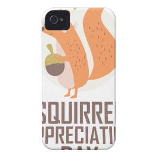 January 21st - Squirrel Appreciation Day iPhone 4 Cases