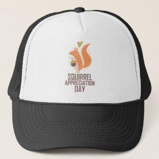 January 21st - Squirrel Appreciation Day Trucker Hat