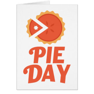 January 23rd - Pie Day - Appreciation Day Card