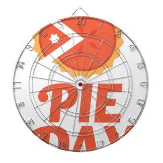 January 23rd - Pie Day - Appreciation Day Dart Boards