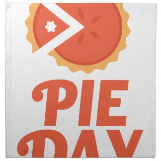January 23rd - Pie Day - Appreciation Day Napkin