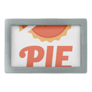 January 23rd - Pie Day - Appreciation Day Rectangular Belt Buckle